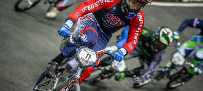 UCI BMX Supercross World Cup #1 at Manchester, UK