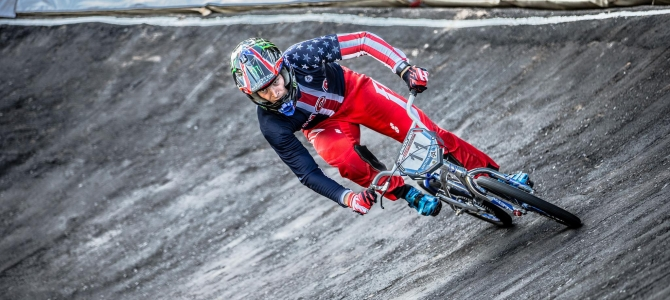 Connor Fields Finishes 2nd at the opening round of the 2016 UCI BMX World Cup Season in Argentina