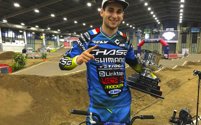 Joris Daudet wins the 2016 USA BMX #1 Pro Title, wining it for a 2nd year in a row!