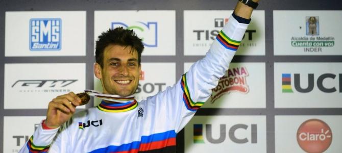 Joris Daudet is the New UCI BMX Elite Men's World Champion!