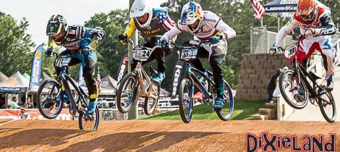 Chase Pros dominate the weekend in USA BMX Dixieland Nationals at Atlanta, Georgia