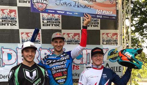 Joris wins again at USA BMX Derby City Nationals !