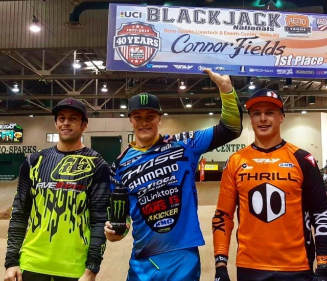 Connor wins 2 days at USA BMX Blackjack Nationals in Reno, NV