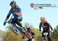 Joris Daudet wins stop #3 of the USA BMX North American SX Series at Rock Hill, SC