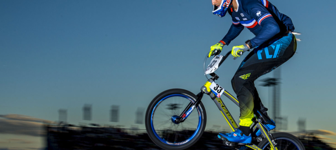 Joris get the 3rd place at UCI BMX World Championships in Rock Hill, USA